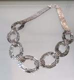 Vintage Swarovski crystal with Japanese seed bead necklace.