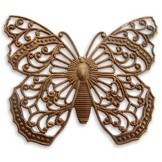 Natural Brass Filigree